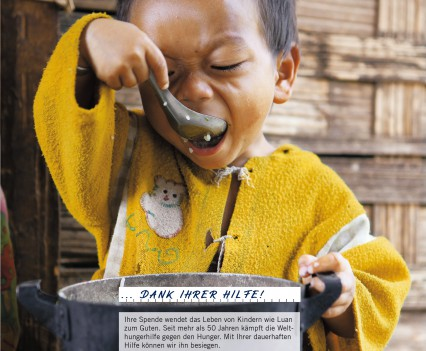 Welthungerhilfe Beilage
