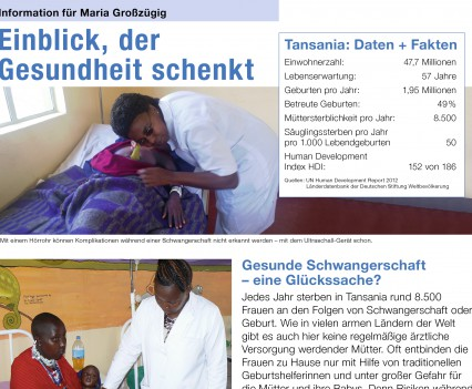 Action Medeor Großspender Mailing