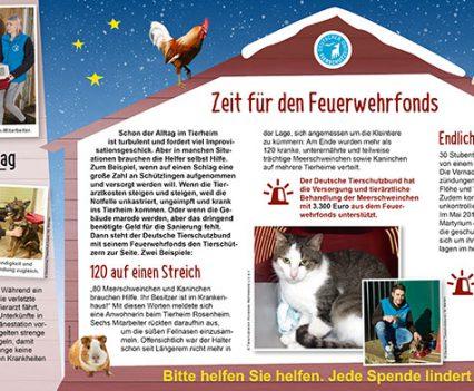 DTSB Weihnachtsmailing Flyer innen