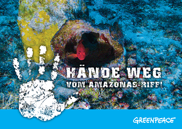 Greenpeace Amazonas Riff Poka
