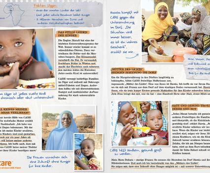 CARE Niger Mailing Flyer