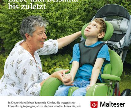 Malteser Hospiz Flyer Titel